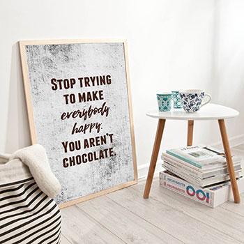 Plakaty z cytatami – myśli wielkich ludzi na twojej ścianie