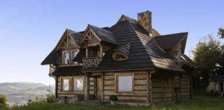 Wzrasta popularność na domy drewniane